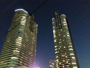 der linke tower ...