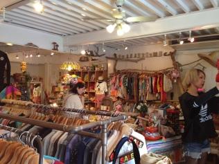 Secondhand-shop in Harajuku