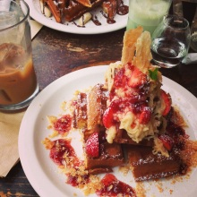 waffle cafe ORANG Shimokitazawa