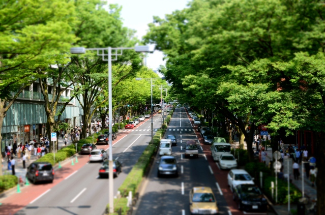 Omotesando Shooping Mile