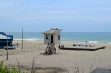 Onjyuku Beach early seoson