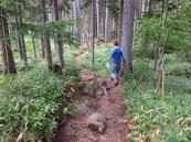 Abstieg Mt. Meakan