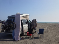 Camping&Surfing at Haamatsuma Beach