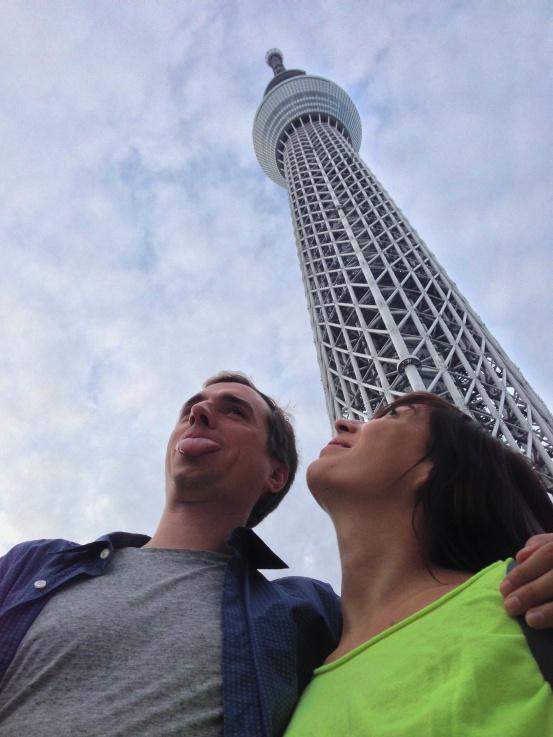 Skytree Posing