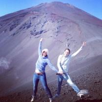 Mt. Fuji jumping