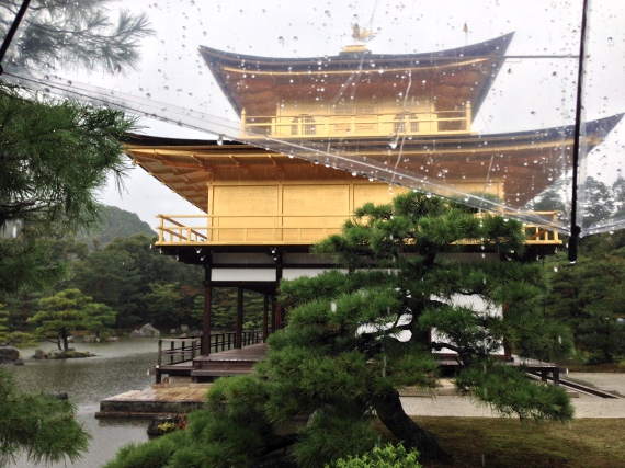 golden temple in kyoto