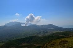 Mt. Aso in Kyushu