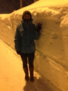 A Laura Height of Snow