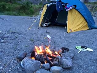 Camping @ Tamagawa